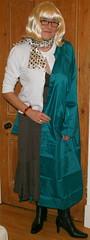 Green Nylon Mac (Miss Pakamac) Tags: pakamac raincoat rainwear