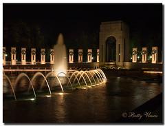 Washington DC at Night (Betty Vlasiu) Tags: washington dc night the word war ii memorial