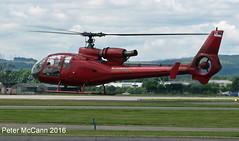 YU-HEV Gazelle Glasgow July 2016 (pmccann54) Tags: yuhev sa342 gazelle