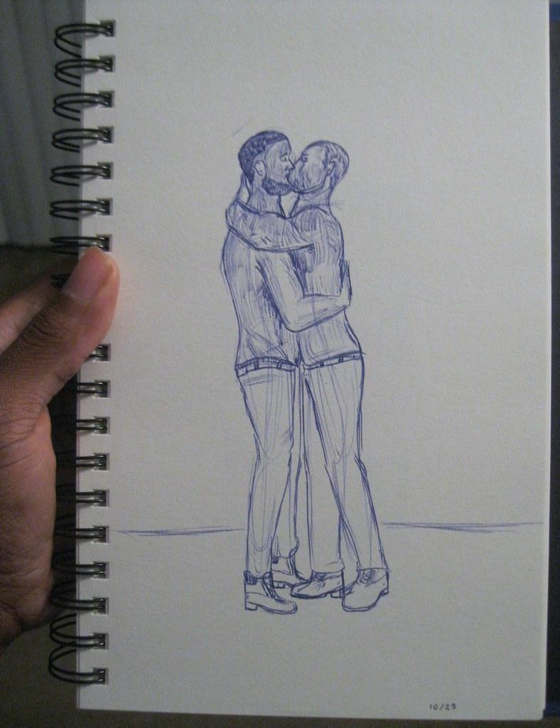 Fetish, Gay, Kissing