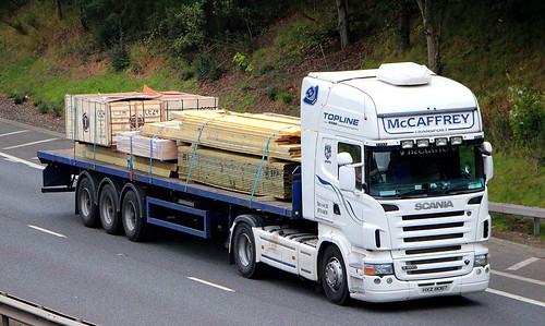 SCANIA R500 V8 - McCAFFREY Transport Coalisland Dungannon Co.Tyrone NI