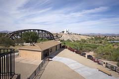 Yuma Territorial Prison State Historic Park (fa5driver) Tags: yuma arizona az panasonic gh3 714mm m43 oceantoocean bridge coloradoriver territorialprison statehistoricpark jailhouse uwa