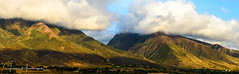Lahaina Mountains Near Sunset - Maui (jhambright52) Tags: lahaina westmauimountains westmauimountainssunset mauikomohana panoramawestmauimountains