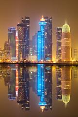 City Scape- Doha (aliffc3) Tags: doha qatar cityscape nikond750 nikon70200f4 skyscrapers buildings architecture