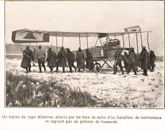 A German Albatros B.I captured by the French forces [Germany, 1914] (Kees Kort Collection) Tags: 1914 albatros bi biplane captured threebay