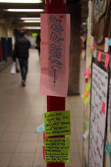 IMG_2228 (neatnessdotcom) Tags: union square subway station postit notes wall tamron 18270mm f3563 di ii vc pzd canon eos rebel t2i 550d