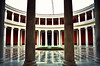 Balance (deppy_kar) Tags: zappeion zappeionmegaron athens greece hall atrium architecture archtectural europe buinding buildings geometry flowers fountain red zappeio rotunda curve nikon nikond5200 d5200 dslr nikkor greek balance