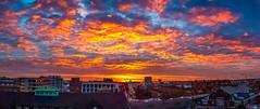 Hamburg Sunrise S7 Pano (Duke.Box) Tags: oliverutesch samsunggalaxys7 android panorama sunrise sonnenaufgang klosterwall skyline hamburg hamburgerfotofreaks himmel sonne wolken