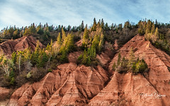Blomidon, Nova Scotia (Michelle Coleman) Tags: blomidon cliffs ps