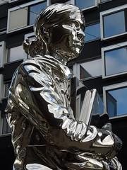 The Iron Lady (roger.w800) Tags: sculpture sculpturefigure largerthanlife metalsculpture art modernart woman switzerland zurich