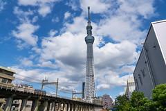 東京スカイツリー Tokyo Skytree (yiming1218) Tags: 東京 スカイツリー tokyo skytree tower architecture asakusa 淺草 浅草 japan japanese 晴空塔 天空樹 sony ilce7rm2 a7r2 a7rm2 gm g master 2470mm fe f28 源森橋