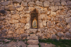 #115 - Gate (Keeperofthezoo) Tags: 116picturesin2016 ancient ancientruins greece mycenae ruins gate texture tourism travel