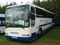 Suffolk County Council W37 XDS (quicksilver coaches) Tags: volvo b7r plaxton prima suffolk countycouncil w37xds showbus duxford