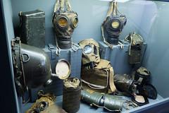 WWII gas masks (quinet) Tags: 2015 gasmasken museumofthepolisharmy muzeumwojskapolskiego poland varsovie warsaw warschau warsowa gasmasks masquesàgaz
