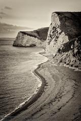 Durdle Door Beach (TriggerImage) Tags: beach cliff coast countryside dorset england jurassiccoast landscape lulworthcove november outdoors rural sea seaside shoreline timkahane tri uk waves durdledoor gbr