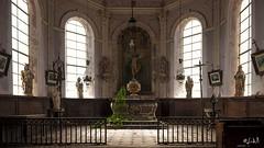 Eglise des  morts (chicos54) Tags: eglise lumire urbex chapelledesmorts chapelle nikond700 d700 abandonne abandon divine