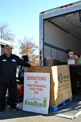 One down, a truck full to go! (CFBCA) Tags: truck tote canned food drive canathon community bank central alabama holiday helping others