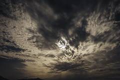 sun is hidden behind dark clouds.. (ckollias) Tags: backgrounds beauty nature cloud sky clouds cloudsandsky cloudscape dark day greece low angle view no people outdoors scenics storm sun