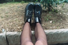 AA004 (Doris) Tags: black shoes docs drmartens