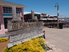 Old Fisherman's Wharf (Dlp-o-Rama) Tags: california usa monterey westcoast