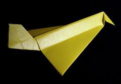 Origami Concorde (Lou Pearson) Tags: plane origami nick concorde planes robinson