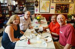 Cousins (fotofrysk) Tags: family ontario canada lunch cousins richmondhill firstmeeting dutchstore niemeyers nikond7000 lyndagalama johnmckimm averillmwitteveen sjoerdwitteveen