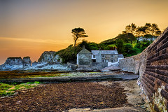 The Old Mill House (Dave Wilkinson Photography) Tags: seaweed sunrise rocks hdr ilfracombe northdevon bristolchannel leebay 5xp northdevoncoast oldmillhouse northdevonengland northdevoncoastline ilfracombenorthdevon northdevonsunrise northdevonimages northdevonpictures leebayimages leebaypictures ilfracombepictures leebaysunrise leebaynorthdevon