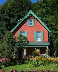 IMG_3667 (Mary Susan Smith) Tags: city flowers summer house brick garden ottawa challengeyouwinner cychallengewinner storybookwinner