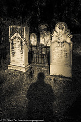 Shadow (MarkisMT) Tags: california ca cemetary calif tombstones eldoradocounty