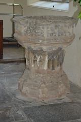 Font - St Lawrence's Church, Evesham, Worcestershire. (greentool2002) Tags: church st lawrence churches conservation trust font worcestershire evesham