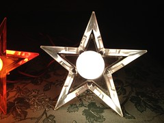 white ge d14 (JeffCarter629) Tags: glow ge c9 d14 vintagechristmas glowstar vintagechristmaslights gechristmaslights generalelectricchristmaslights glostar