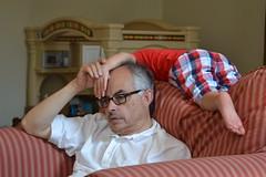 Granddad and Grandson (Tobyotter) Tags: family ohio sam cincinnati grandfather grandson sherman