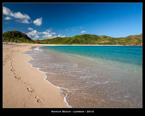 Mawun Beach - Lombok