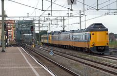 Zutphen ICMm 4057 en Plan V 935 (Rob Dammers) Tags: station ns plan 64 mat v brug trein spoor zutphen ter koploper zijde rangeer