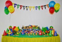 Lego Birthday Party (Kid's Birthday Parties) Tags: lego legos legobirthdaycake legocake legoparty legobirthday legopartysupplies