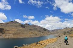 Rounding Laguna Paucarcocha