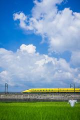 Dr.Yellow (Tagosaku) Tags: shinkansen 新幹線 japan aichi