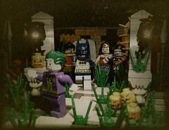 Halloween Hero Horror (Legoagogo) Tags: halloween robin lego superman superhero batman horror chichester moc legoagogo