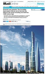 "The Daily Mail Reports on Shanghai Tower As One of the World's ""Incredible Skyscrapers"" (Marshall Strabala Chief Architect Shanghai Tower) Tags: china uk architecture skyscraper shanghai architect  nanjing jinmaotower dailymail londonengland shanghaitower  supertall shanghaiworldfinancialcenter marshallstrabala  nanjinggreenlandfinancialcenter burjkhalifa 2definearchitecture chiefarchitectofshanghaitower"