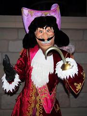 Captain Hook (meeko_) Tags: world party halloween night florida magic kingdom peterpan disney pirate captain characters hook waltdisneyworld walt villain themepark magickingdom fantasyland captainhook mickeys disneycharacters notsoscary mickeysnotsoscaryhalloweenparty villainsmixandmingle castleforecourtstage