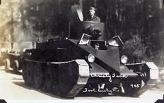 AL231 Davis Album Photo_000147 (San Diego Air & Space Museum Archives) Tags: tank sandiego panamacanal armoredwarfare al231 armouredwarfare m1931christietank m1931christie christietank