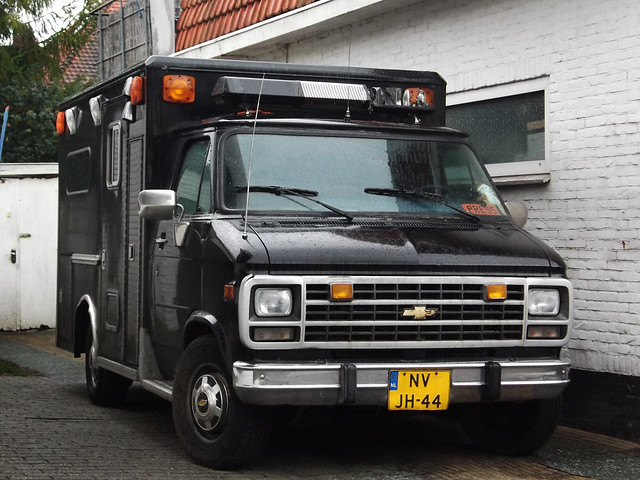 chevrolet ambulance chevy 1995 van nvjh44