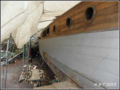 Motor Yacht 'Glala' (Alan B Thompson) Tags: boat suffolk picasa olympus ipswich eastanglia 2013 sp590uz