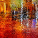 Sierra Monet, Lake Sabrina in Autumn