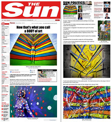 The Sun (UK) - News Article - Ben Heine Art (Ben Heine) Tags: uk inspiration news art public magazine painting photography newspaper artist artgallery fairs drawing quote events famous journal fame creative culture exhibitions international human worldwide impact prints imagination series info press sales copyrights interview information biography journalism artworks arthistory publication thesun citation concepts quotations copyrighted uvre newsarticle analyses historyofart benheine printedpublication digitalcirclism belgiumartist pencilvscamera fleshandacrylic benheinebiography