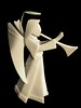 Porcelain Origami: Angel