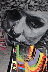 Tour Paris 13 - Artiste : David Walker (https://www.facebook.com/audreyabbesphotography) Tags: streetart paris couleurs graf femme peinture visage graffeur baignoire artiste 75013 arturbain davidwalker visagefemme galerieitinerrance audreyabbs tourparis13