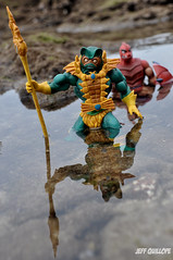 The Hunt (Toy Photography Addict) Tags: toy toys actionfigure matty actionfigures motu mattel heman skeletor merman eternia mastersoftheuniverse grayskull outdoorphotography matteltoys clawful mattycollector mastersoftheuniverseclassics motuc clarkent78 jeffquillope toyphotographyaddict 80sofmylife