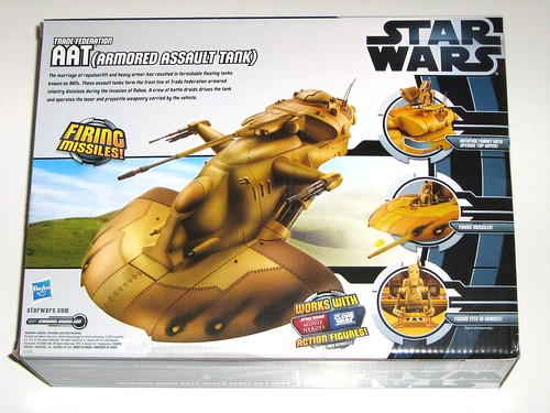 aat armored assault tank star wars vehicles darth maul packaging 2012 hasbro misb b