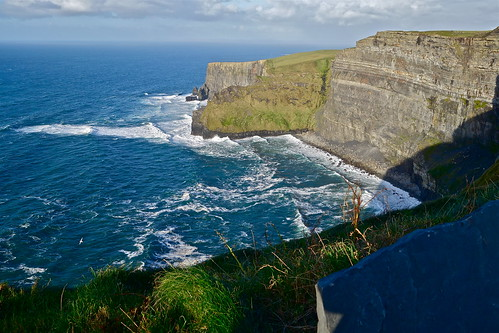 Aill na Searrach Near Cliffs of Moher